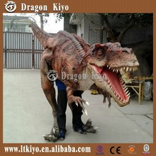 2017 The newest relistic life size dinosaur costume