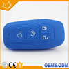 Special design silicone key fob 4 botton custom silicone flip key shell smart key cover for ford focus