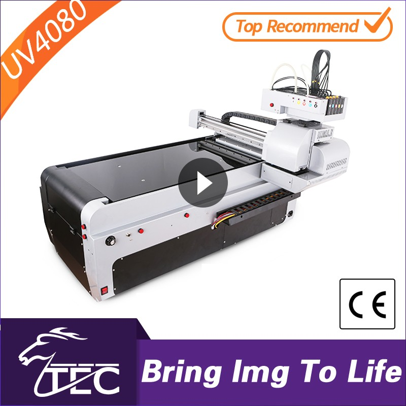 2016 Newest flatbed printer price rubber wristband printing machine