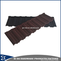 Factory supply stone coated metal roof tile
