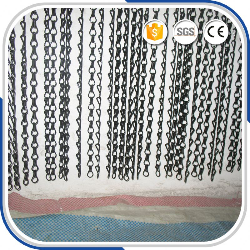 colorful alibaba interior shiny chain fly screen link curtain for living room partition