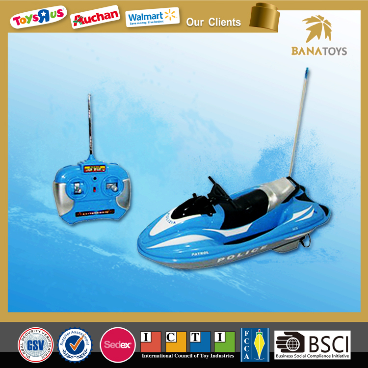 Big promotion!Popular radio control mini plastic toy boat