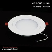 Shenzhen high brightness 4 inch 6W led downlight CE Rohs certificate
