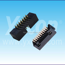 1.27 mm / 2.00 mm / 2.54 mm Pitch Male Box Header Connector SMT /Straight /Right Angle Type