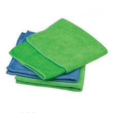 Household Cleaning Microfiber Cloths Green Kitchen Towels Dish Micro Fiber Cloth