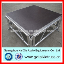 easy assemble stage/aluminum portable stage/plywood stage
