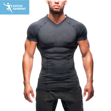 Wholesale High Quality Men Custom Gym Bodybuilding Fitness T- Shirts