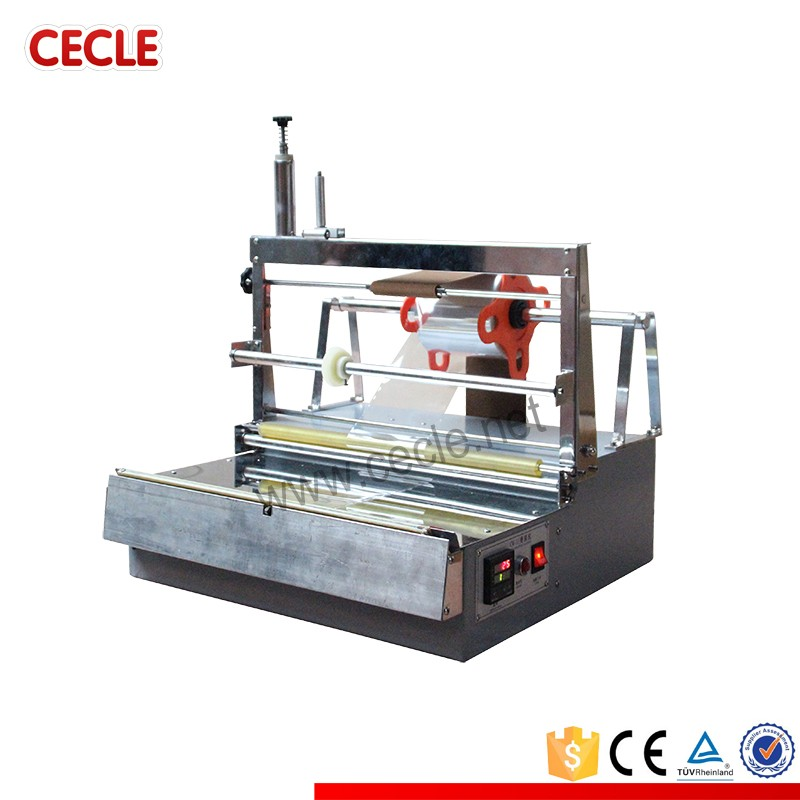 Brand new jewel cd case overwrapping machine with CE certificate