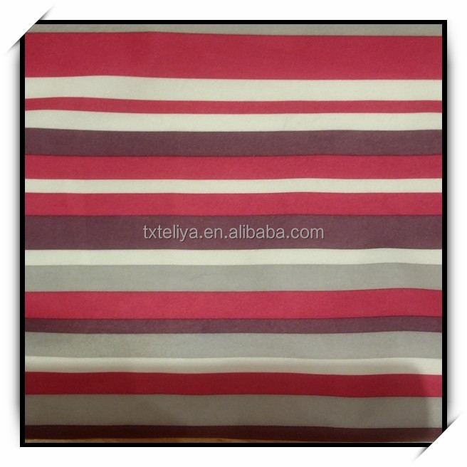 Super Soft Stripe Velboa For Sofa Fabric