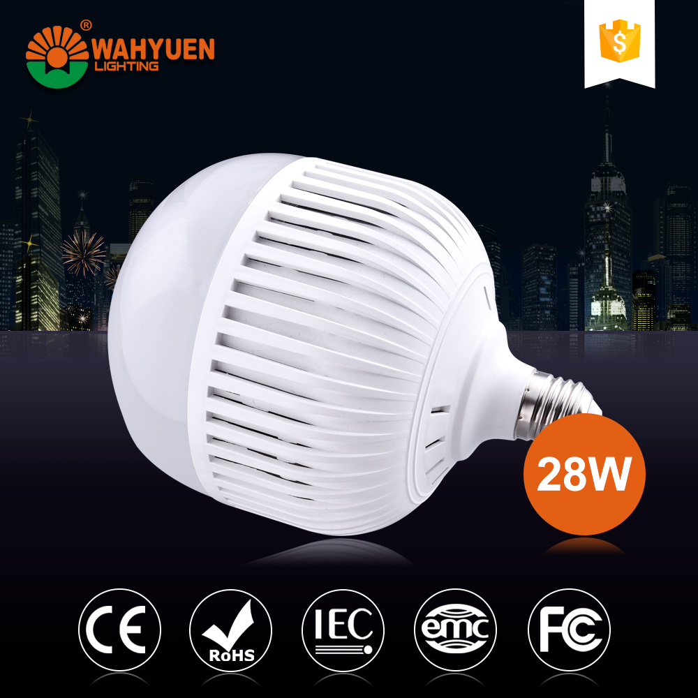 15W 24W PC aluminum CE ROHS IEC flower shape energy saving light bulb