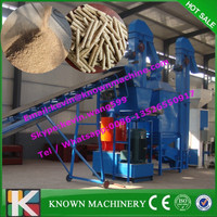 Ring Die Wood Pellet Machine China with CE Certification