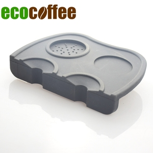 Functional Silicone Coffee Corner Tamping Mat Food Grade Silicone Coffee Tamper Pads