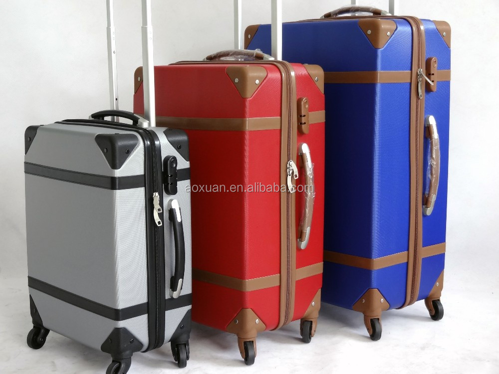shanghai travel luggage factory 2016 new luggage abs travel luggage
