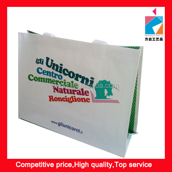 Promotional PP Laminated Non Woven Packaging Bag