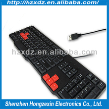 Hot sale USB 2.0 keyboard compatible desktop or laptop computer and table pc so on