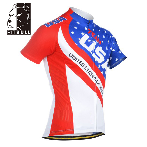 Manufacturer supply sportswear custom quick dry cycling jersey