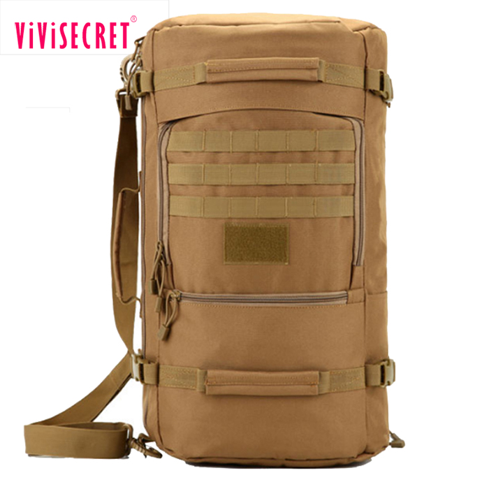 Military Army Tactical Cargo Style Duffle Bag Backpack selecting different materials patterns