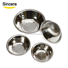Factory Wholesale Cheap and Quality Salad Bowl Mixing Bowl Stainless Steel Small Bowls 12cm-26cm