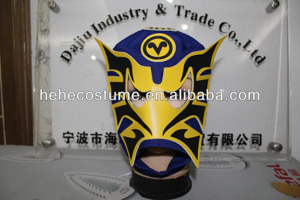Hot sale mexican style lucha libra mask, adult wrestling mask