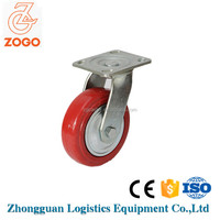 PU plated caster wheels heavy duty with ISO90001
