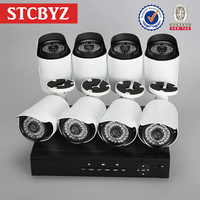 Low price plug and play surveillance system 8ch h 264 complete cctv kits