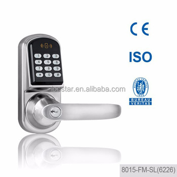smart design Zinc alloy card digital code lock