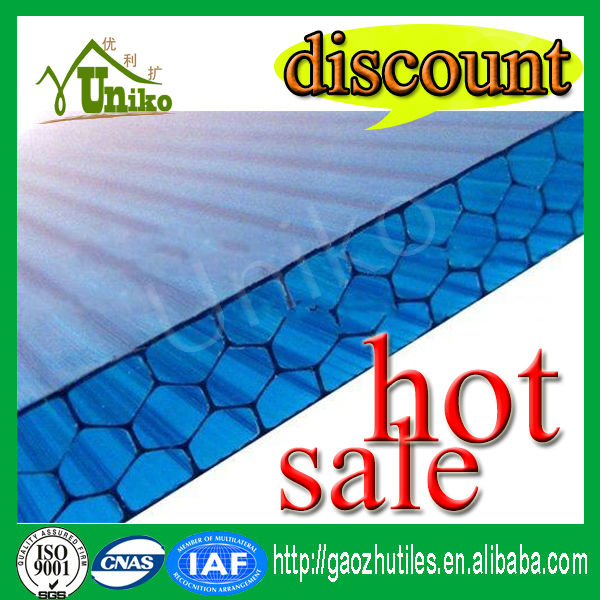plastic honeycomb polycarbonate sheet