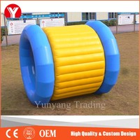 High quality inflatable aqua roller ball,inflatable water roller