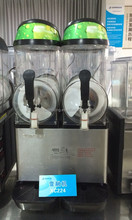 Stainless steel Double tank 12L slush machine /frozen drink machine XC224A