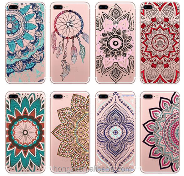 National hollow-out decorative pattern Design Smooth Hardened Plastic Phone Case for Apple iPhone 4 5 5S 5C 6 6 Plus 7