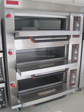 Bread oven Commercial bakery oven 3 Deck, 6 Tray Gas bakery Oven