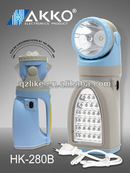 220V Rechargeable Potable Led Table Light