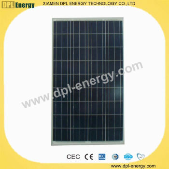import 110W pv solar panel,solar cell wholesale CE, TUV, MCS, RoHS,CEC
