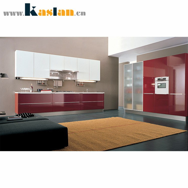 CHina detached drawers wooden automatic kitchen cabinet door spraying painting machine design