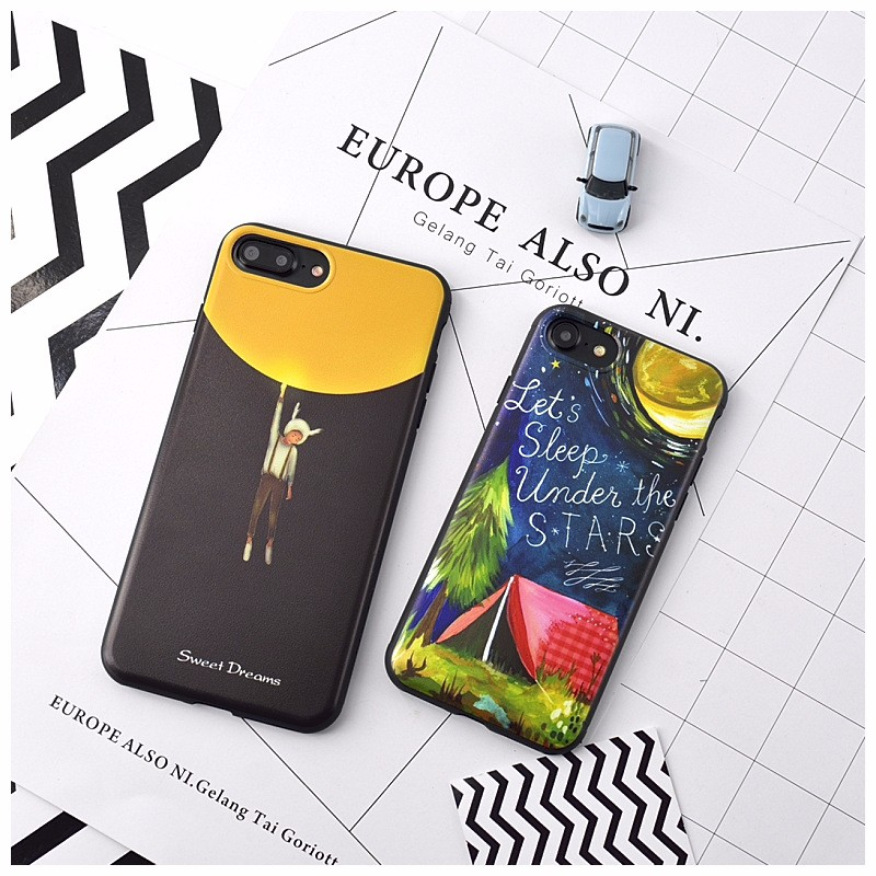 OEM custom printed silicon mobile phone cover for iphone 6