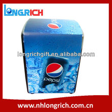 CREATIVE PEPSI METAL BAR TISSUE BOX WITH PRINTED TISSUE