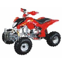 EPA Approved Gas-Powered 4-Stroke Engine ATV with 110CC Displacement WZAT1114 EPA