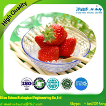 No Pigment No Additives For Beverage Good Taste Organic Natural Freeze-dried Strawberry Powder