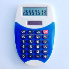 Dual power calculator, mini solar pocket calculator/ HLD800