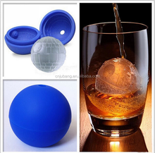 Silicone round ice ball shaped fancy ice cube tray / Silicone Ice Ball Maker / Ball Shape Silicone Ice Tray