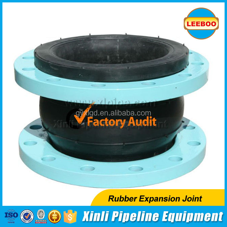High reputation all over the world flexible rubber expansion joint with flange coupling