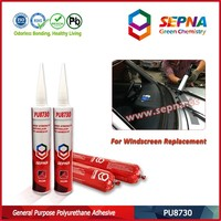 automotive polyurethane car windshield glass repair adhesive