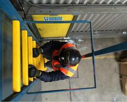 FRP Ladder Rung Cover Gritted Pultrusion