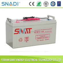 12V 120AH active polymer solar gel battery for power supply