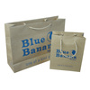 Kraft brown paper carrier bag