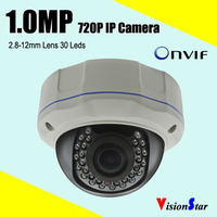 H.264 CCTV Camera 720P RJ45 Interface IP Camera Multi Language Function Network Camera