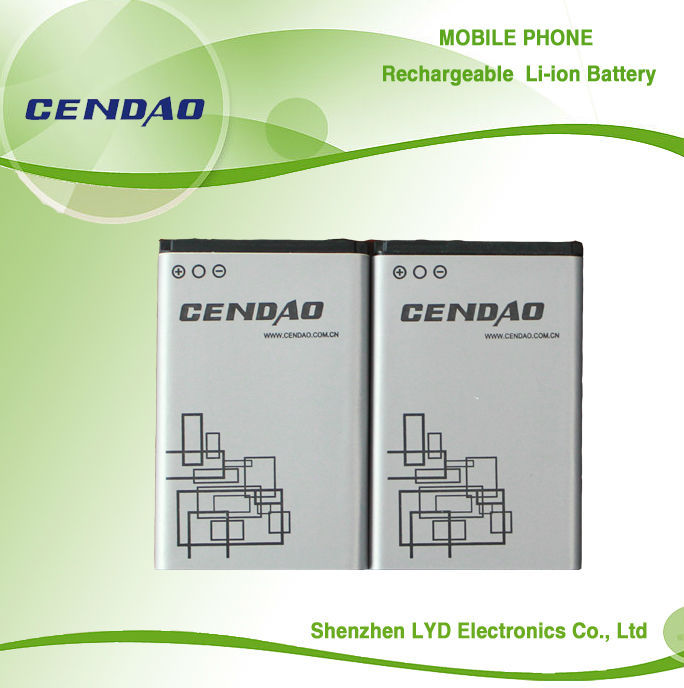 1020mAh BL-5C High capacity mobile phone battery shenzhen china mobile phone battery factory