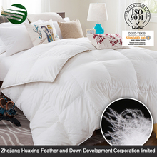 Wholesale Economical Custom Soft Decorative Economical Custom DesiHotel Quilt/Duvet/Comforter Polyester Goose Feather Comforters