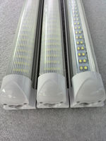 Free Japanese tube 8 feet LED shop light 2400mm double row 8FT LED light with full fixture