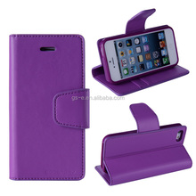 Mobile Phone wallet leather flip case for nokia lumia 625